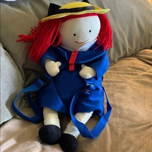 """Other - BACKPACK MADELINE Doll Plush Stuffed Large 20"""""""